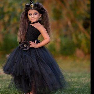 Other - Stunning Black Unicorn Tutu Dress